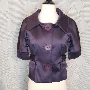 Peppe Peluso ~ Purple Jacket ~ Size S